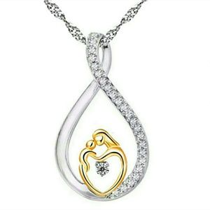NEW mother and child necklace